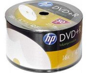 HP DVD+R 4-7GB 16X FullPrint Shrink (50)