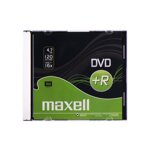 Maxell DVD+R 16x 4,7GB Slim Case