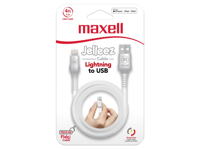 Maxell USB - LIGHTNING JELLEZ CABLE 1,2m  White