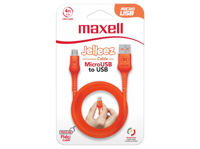 Maxell MICRO USB JELLEZ CABLE 1,2m  Orange