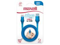 Maxell USB TO USB C JELLEEZ CABLE 1,2m  Blue