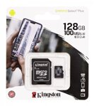 Kingston Micro SDHC 128GB Canvas Select Plus A1 100MB/s CL10 Card + SD Adapter