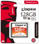 Kingston compact flash 128GB Canvas Focus UDMA7 VPG-65 (č/z: 150/130MB/s)