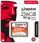 Kingston compact flash 256GB Canvas Focus UDMA7 VPG-65 (č/z: 150/130MB/s)
