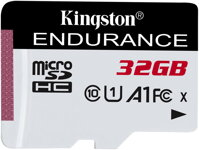 Kingston micro SDXC 32GB  Endurance CL10 A1 95R/45W bez adapteru