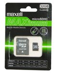 Maxell Micro SDHC Maximum 32GB Class 10+ adapter