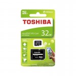 Toshiba Micro SDHC 32GB Exceria+ adapter 100MB/s