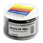 Traxdata DVD-R 4,7GB 16x  white full print Shrink 50