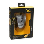 VARR MOUSE OMEGA OM-270 GAMING 1200-1600-2400-3200DPI GREY