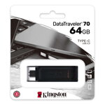 Kingston USB  DataTraveler  70 64GB  USB-C 3.2 gen. 1