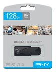 PNY memory USB Attache 128GB USB 3.1  Black