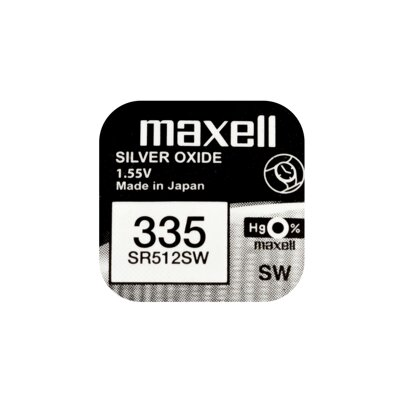 Maxell Battery SR512SW (335)