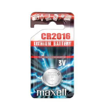 Maxell Battery CR2016