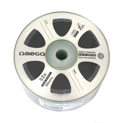 Omega CD-R 4,7GB  Digital Movie Edition Silver Shrink 50