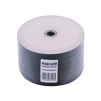 Maxell CD-R 52x 700MB Print Shrink 50