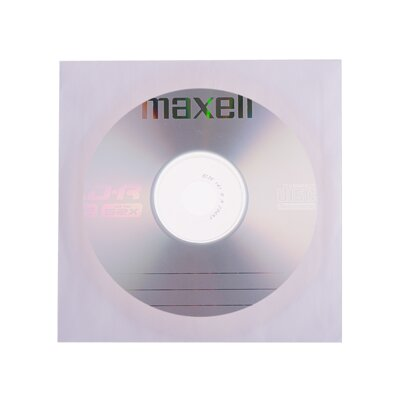 Maxell CD-R 52x 700MB Paper Sleve