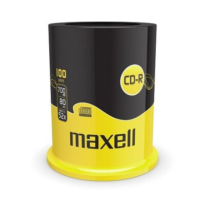 Maxell CD-R 52x 700MB Cake 100