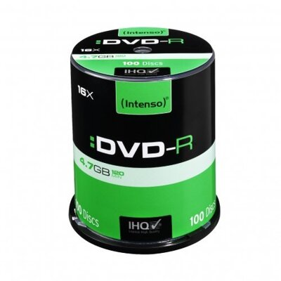 Intenso DVD-R 4,7GB Cake 100