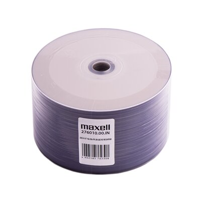 Maxell DVD-R 16x 4,7GB Print 50 Shrink