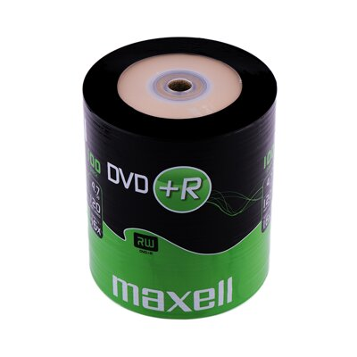 Maxell DVD+R 16x 4,7GB Shrink 100