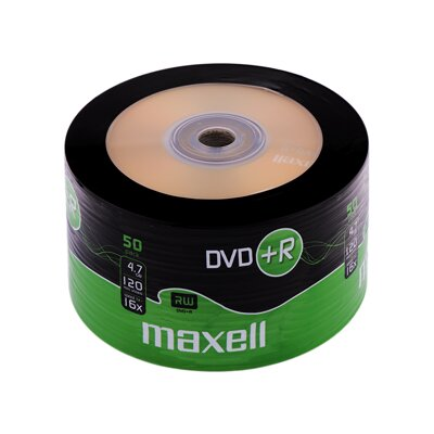 Maxell DVD+R 16x 4,7GB Shrink 50