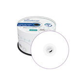 MediaRange Medical Line DVD-R 4.7GB 16x , inkjet fullsurface printable, Cake 50