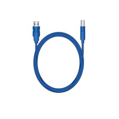 Mediarange Connection Cable AM/BM 1,8m Blue