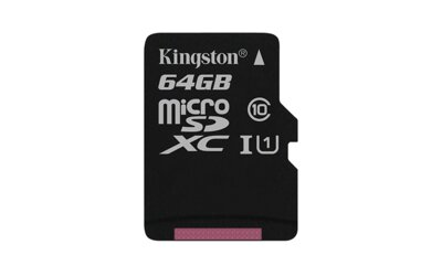 Kingston Micro SDXC 64GB Canvas Select 80R