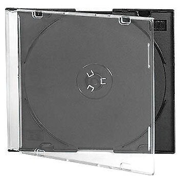 CD-Box 5,2 mm Single Black tray HQ