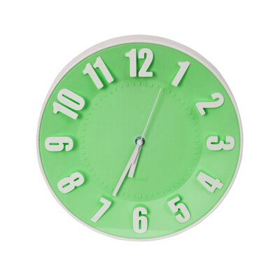 Platinet Clock TODAY Green