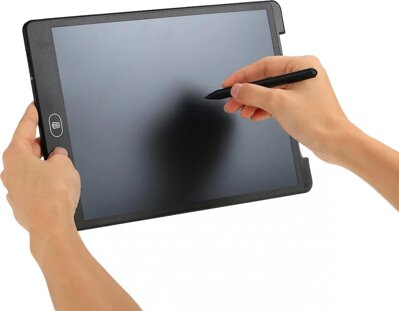 "Platinet LCD Writing Tablet Mousepad 12"" Black"
