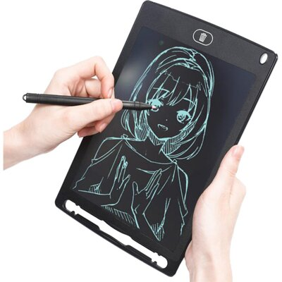 "PLATINET LCD WRITING TABLET  MAGNET ON 8,5"" BLACK"