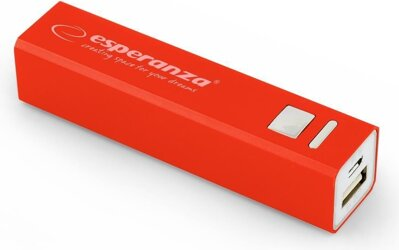Esperanza Power Bank 2400mAh Red