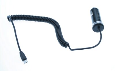 MediaRange Car Charger with 1.0A micro USB
