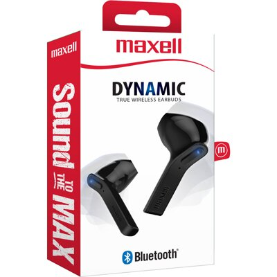 Maxell Earphone MLA Dynamics TWS Black