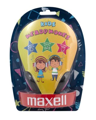 Maxell Headphone KIDS Pink V2