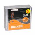 Maxell DVD+DL 8x 8,5GB Jewel Case 5PK
