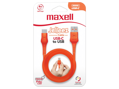 Maxell USB TO USB C JELLEEZ CABLE 1,2m  Orange