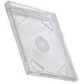 CD Box 10,4 mm Double Clear tray