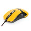 VARR GAMING mouse OM-270 GAMING 1200-1600-2400-3200DPI YELLOW