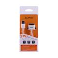Cliptec 3v1 USB Smart-Link Cable White